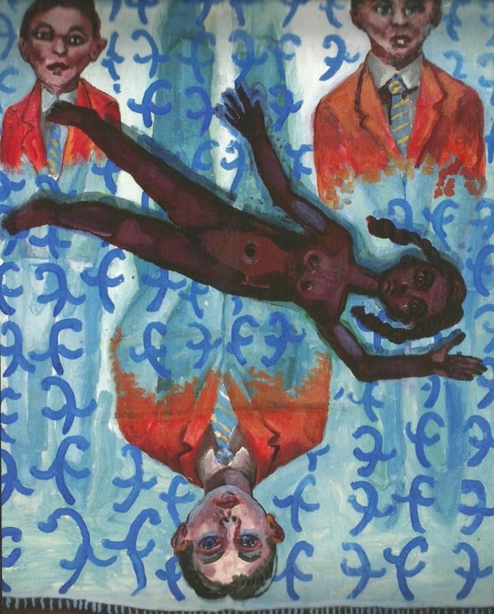 Blue Psycho Rug